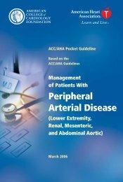 PADPocketGuide .pdf - Society for Vascular Nursing