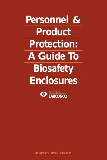 Bio-safety Enclosures - Office of Research & Economic Development