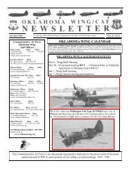CAFNEWSLETTER Dec 2005.PUB - Contrails.us