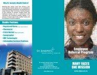 Employee Referral Program - St. Joseph's Health Centre Toronto