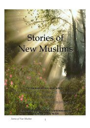 Stories of New Muslims - Institute for European Studies