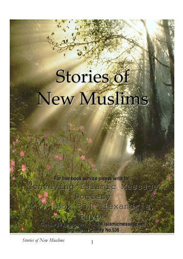 Stories of New Muslims - Institute for European Studies