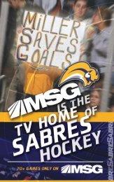 Buffalo Sabres Media Guide - NHL.com