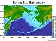 Bering Sea Bathymetry