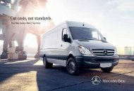 Total Cost of Ownership - TheSprinter.ca