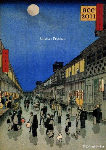 Chester Proshan - IAFOR