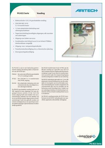 PG 822 Serie Voeding PG 822 Serie - De Beveiligingswinkel