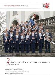 150 Jahre Jubiläum musikverein Wohlen