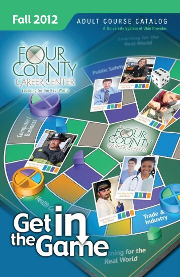 ADULT COURSE CATALOG - Four County Career Center