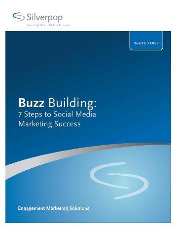 Buzz Building: - Silverpop