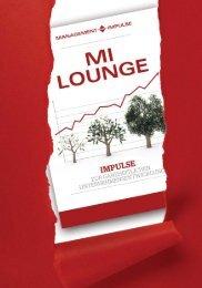 Management Impulse Lounge - Hotel Hochschober