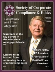 JR - Society of Corporate Compliance and Ethics
