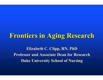 Landmark research study