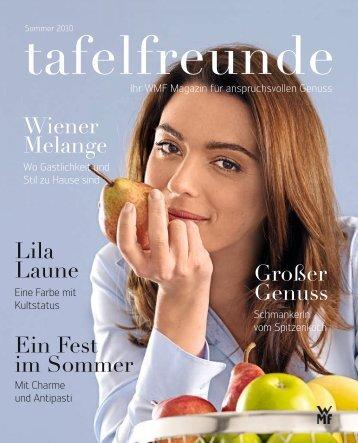 Ein Fest im Sommer Lila Laune Wiener Melange Großer ... - Wmf.com