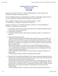 Meeting of IUPAP C-11 Commission Particles and Fields ... - DocDB
