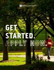 Common Application - DePaul University