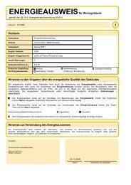 Energie: EnEV2006_AusweisWG - MAURER Wohnbau GmbH