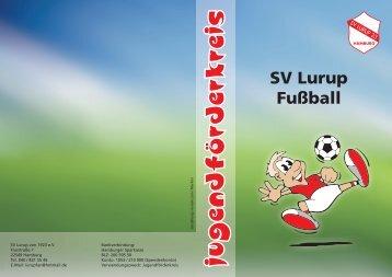 Faltblatt Jugendförderkreis - SV Lurup