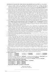 Modulo richiesta servizio trasporto scolastico 2013- 2014 Scuolka ...