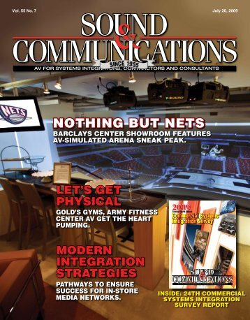 Sound & Communications July 20, 2009 issue