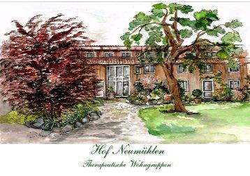 Hof Neumühlen Konzept - auf dem Hof Neumühlen