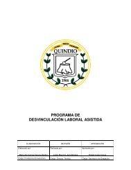 PROGRAMA DE DESVINCULACIÓN LABORAL ASISTIDA