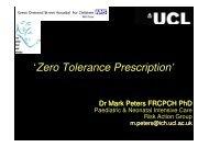 'Zero Tolerance Prescription'