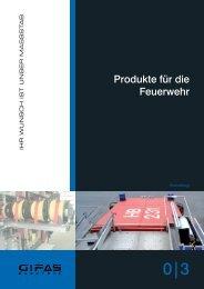 Produkte für die Feuerwehr - GIFAS W.J. Gröninger ELECTRIC GmbH