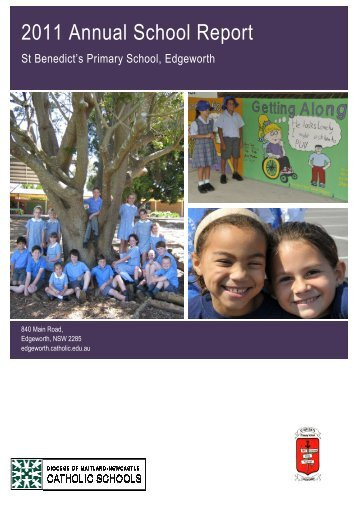 2011 Annual School Report - Catholic Schools Office Maitland ...