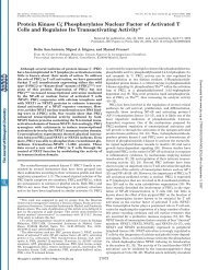 Protein Kinase C Phosphorylates Nuclear Factor of Activated T Cells ...