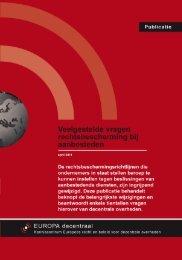 Veelgestelde vragen rechtsbescherming bij aanbesteden - Europa ...