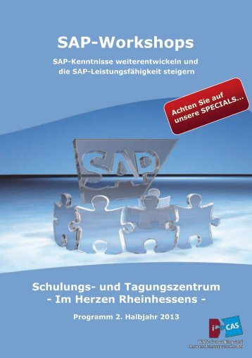 SAP-Workshops - iCAS AG