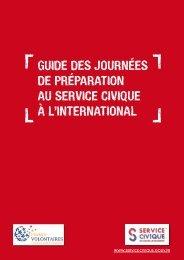 Guide des journées de préparation au service civique à l'international