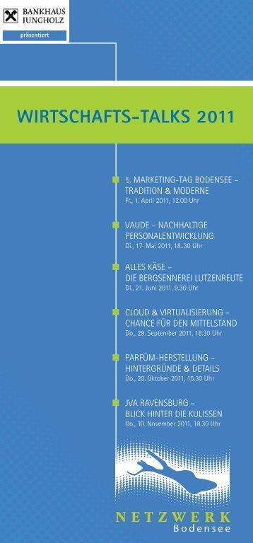Wirtschafts-talks 2011