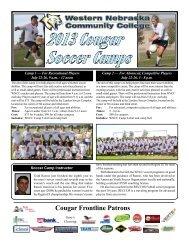 2013 Cougar Soccer Camps