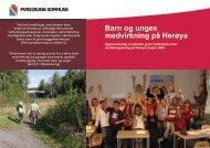 Temanotat Barn og unges medvirkning - Porsgrunn Kommune