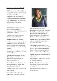 Interview mit Frau Fleck