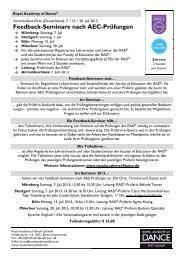 RAD gGmbH Feedback-Seminare Juli 2013 [pdf] - ROYAL ...