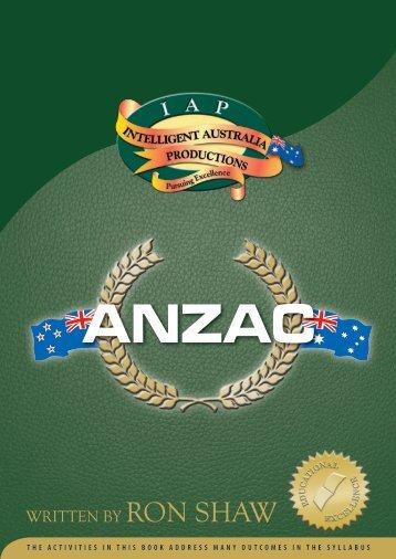 anzac - Australian Teacher