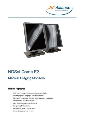 NDSsi Dome E2 Medical Imaging Monitors - X-Alliance.com