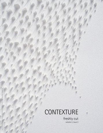 contexture - Center for Architecture Foundation