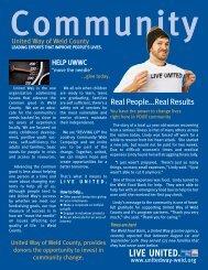 Fall 2008 - United Way of Weld County