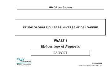 PHASE I Etat des lieux et diagnostic - Les documents techniques sur ...