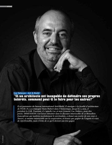 """""""Si un architecte est incapable de défendre ses propres ... - Dimension"""