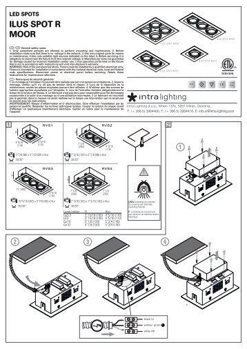 ILUS SPOT R MOOR - Intra lighting
