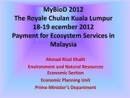 MyBioD 2012 The Royale Chulan Kuala Lumpur 18-19 ... - NRE