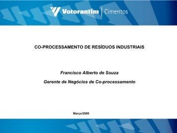 CO-PROCESSAMENTO DE RESÍDUOS INDUSTRIAIS ... - ABM