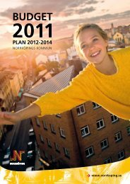 Budget 2011 - Norrköpings kommun