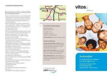 Vitos HT SommerfestFlyer11 RZzw - Vitos GmbH