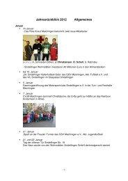 Jahresrueckblick 2012 Allgemeines - bei der Stadt Sindelfingen